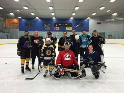 C3 Plays Hockey